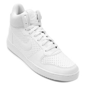 Tenis Nike Borough Mid Branco Promoção