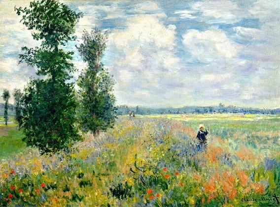 Poster Grande Hd 65x100cm Foto Obra De Monet