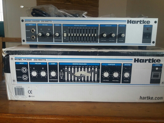 Cabeçote Hartke Ha2500
