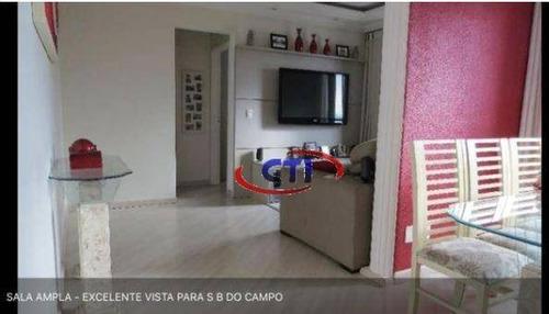 Imagem 1 de 10 de Apartamento Com 3 Dormitórios À Venda, 60 M² Por R$ 297.000 - Jardim Palermo - São Bernardo Do Campo/sp - Ap2977