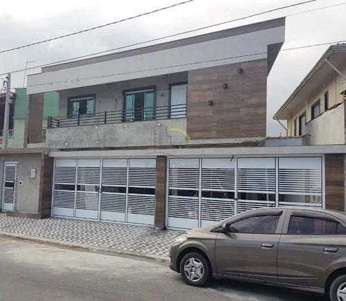 Sobrado De Condomínio Com 2 Dorms, Caiçara, Praia Grande, Cod: 2826 - V2826