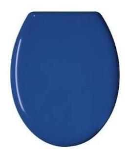 Asiento Inodoro Ferrum Andina Azul Fuerza Aerea Madera Metal