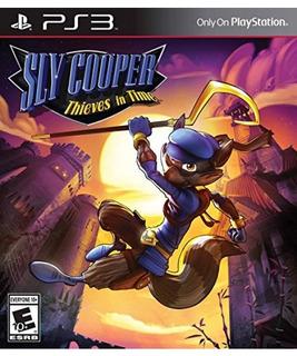 Sly Cooper: Ladrones En El Tiempo - Playstation 3