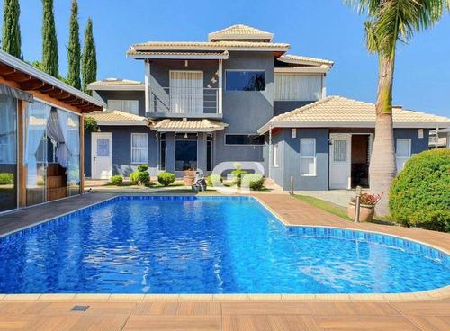 Casa Com 4 Dormitórios À Venda, 414 M² Por R$ 1.800.000,00 - Terras Da Fazenda Santana - Atibaia/sp - Ca0486
