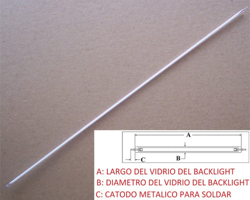 Lampara 170 Mm Backlight Maquina Industrial Samsung Y Otras