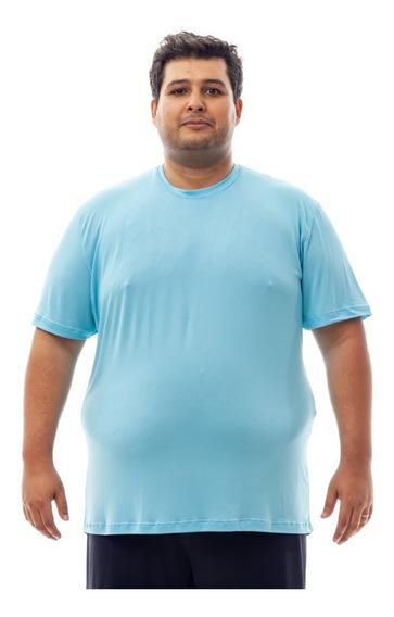 Kit 5 Camisetas Plus Size Dry Fit Poliamida Corrida Academia