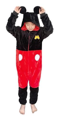 Macacão Kigurumi Tam M Mickey Mouse Zc 10071353