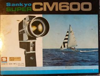 Filmadora Super8 Sankyo Super Cm600 Colecionador