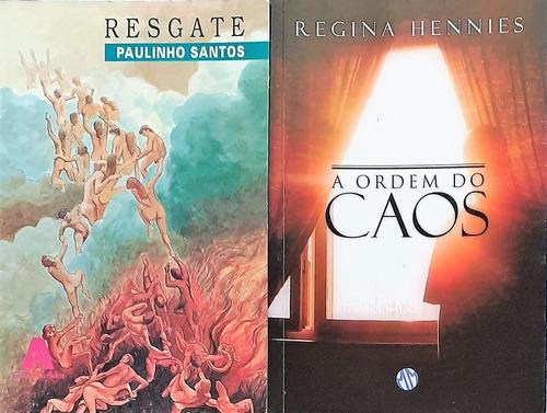 Livros Espiritas - Resgate + A Ordem Do Caos