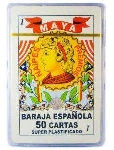 Español Naipes Baraja Espanola 50 Cartas Super Plastificado