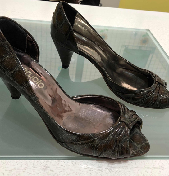 Zapatos Paruolo Cuero Talle 38