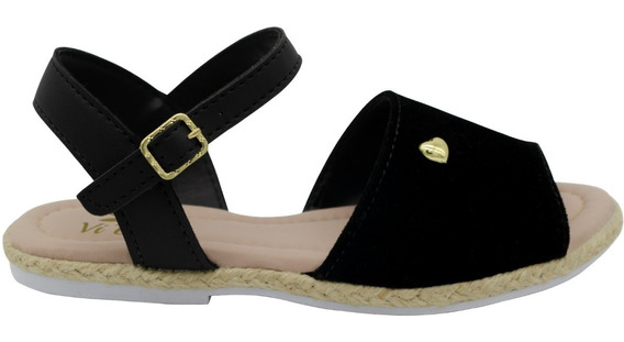 Sandalia Infantil Menina Sapato Flatform Avarca Moda