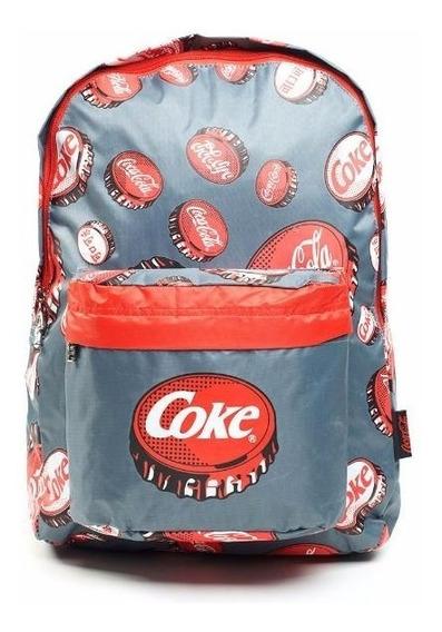 Mochila Espalda 17 Coca-cola Mod. Var. (5758)