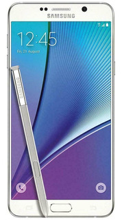 Samsung Note 5 Quadcore 32gb 4gb Ram 4g 5.7 PuLG Blanco Nnet