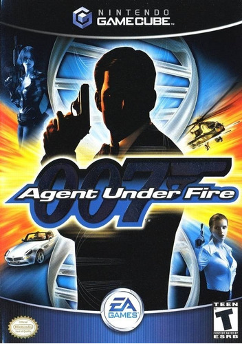 James Bond 007 Agent Under Fire Gamecube Gc Wii Completo
