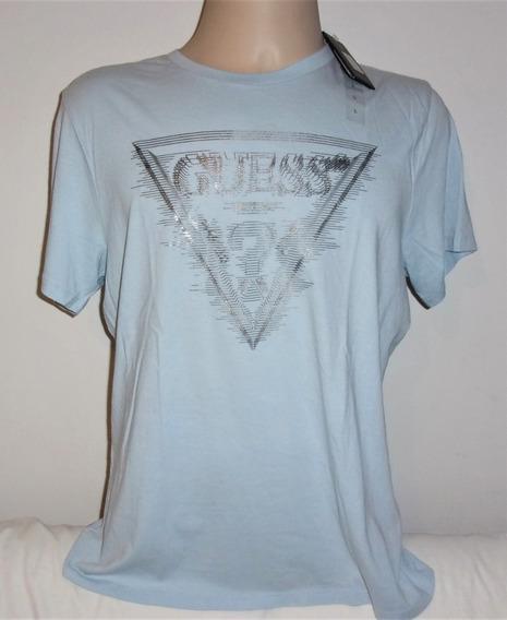 Guess Camiseta Masculina L Original Nova Etiqueta