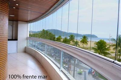 Apartamento Frente Mar Mobiliado Garden 186m2 - Cobertura