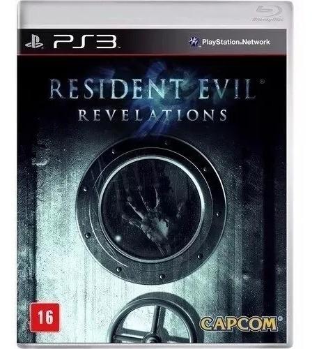 Resident Evil Revelations Playstation 3 Ps3 Mídia Física