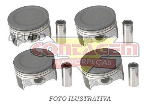 Pistao Gm Opala 250 6cc Cab Reta Gas - Ca0514 - Medida 050