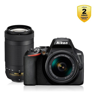 Nikon D3500 + Lente 18-55mm + 70-300mm