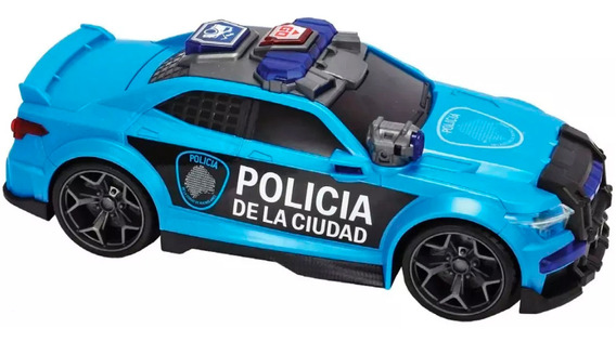 Auto Policía Dickie Toys