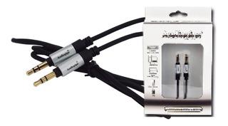 Sgm1 Audiopipe Cable Plug A Plug Macho 3,5mm 4 Polos
