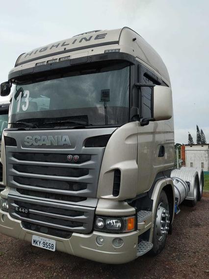 Scania R440 Highline 2013 6x4