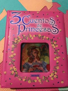 Libro Nuevo Con 3 Cuentos De Princesas