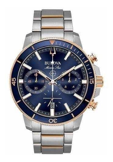 Relógio Bulova Marine Star (98b301) Original