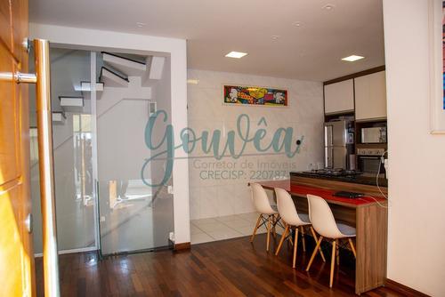 Imagem 1 de 30 de Casa Em Condomínio Com 159m² De Área Útil 3 Dormitórios À 900m Do Metrô Praça Da Árvore - Ca0004