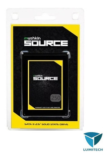Disco Solido Ssd 250gb Mushkin Source 6gb/s 2.5 Para Gamers
