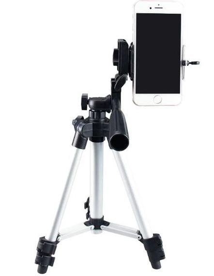 Tripé Para Celular E Câmera