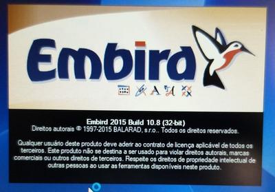 Auxilio Na Instalação Tradução Do Embird 2015 P/ Português