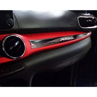 Emblema Resinado Adesivo Para Painel Fiat Argo