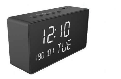Reloj Camara Espia Wifi P2p Ip Fullhd Max 32gb 1080p Vision Nocturna App Android Y iPhone Video 24/7 De Gogo Electronics