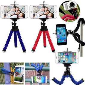 Tripé Flexível Celular Câmera Digital Universal Preto