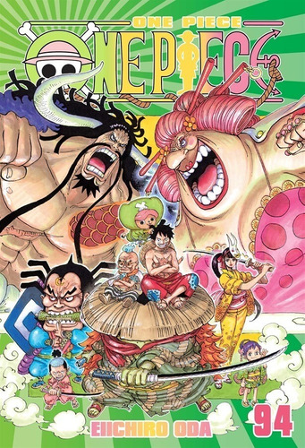 Mangá One Piece Volume 94 Panini - 224 Páginas Novo Lacrado