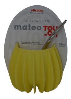 Mate Mateo Touch De Silicón Con Bombilla