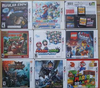 2 Juegos Nintendo 3ds 2ds New Xl Mario Envío Gratis