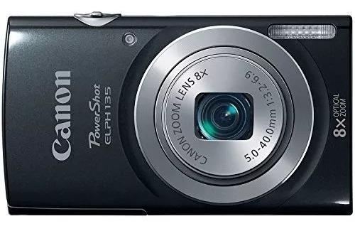 Câmera Digital Canon Powershot Elph135 ( Preto )