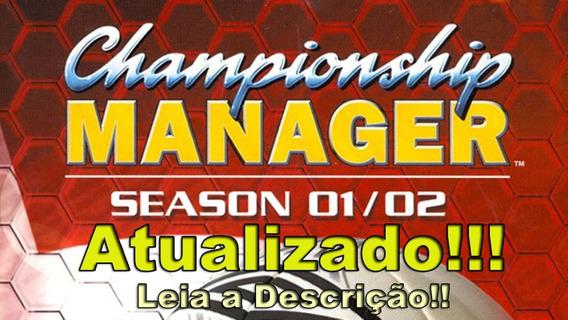 Championship Manager 01/02 Atualizado 2020 - Leia Descrição!
