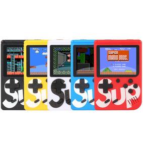 Mini Game Retrô Portatil Infantil 400 Jogos Antigos Anos 80