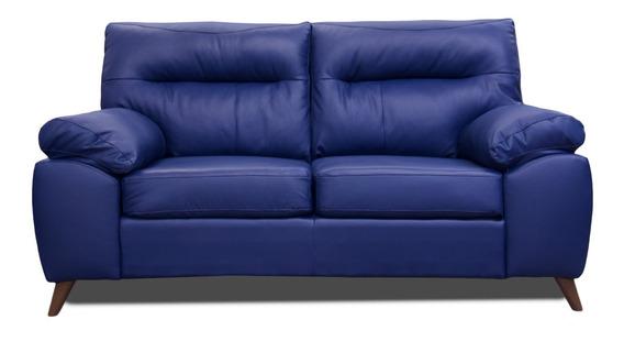Love Seat De Piel Genuina Isabela - Confortopiel