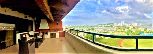 Imagen 1 de 14 de Venta  Penthouse  En Cartagena - Bocagrande