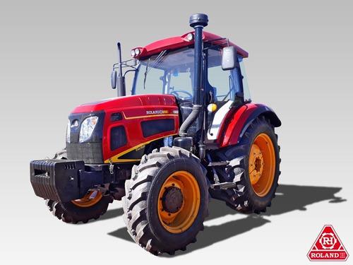 Tractor Agricola Roland H090 Turbo 4x4 90hp Con Cabina