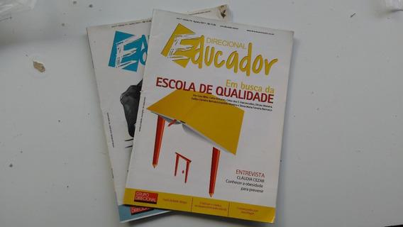 2 (duas) Revistas - Direcional Educador