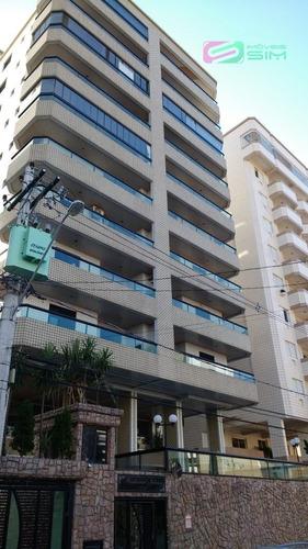 Imagem 1 de 11 de Lindo Apartamento Em Guilhermina - Praia Grande - 4669