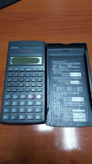 Calculadora Casio Fx-82tl