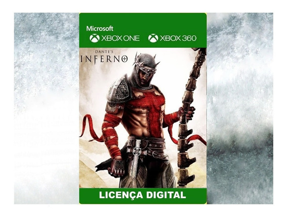 Dantes Inferno Midia Digital Xbox 360