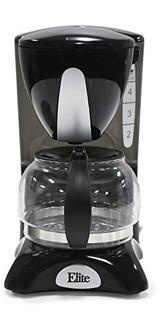 Elite Cuisine Ehc2022 Maximatic 4 Cup Coffee Maker Con Pause
